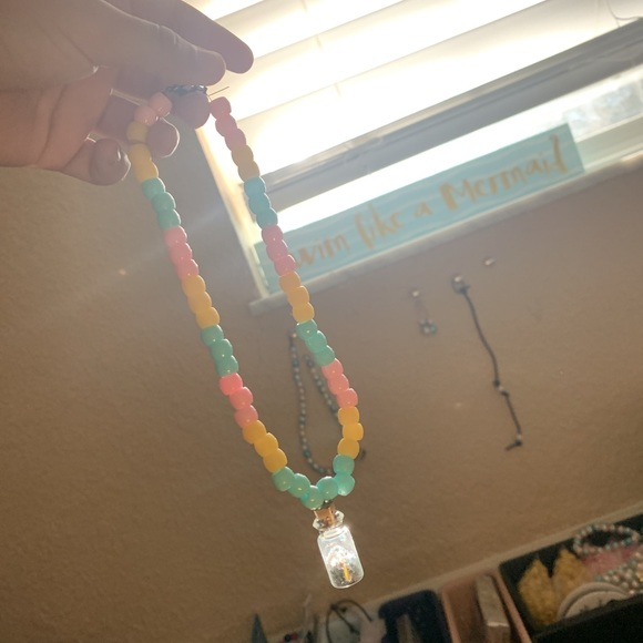Jewelry - Summer beaded wish necklace